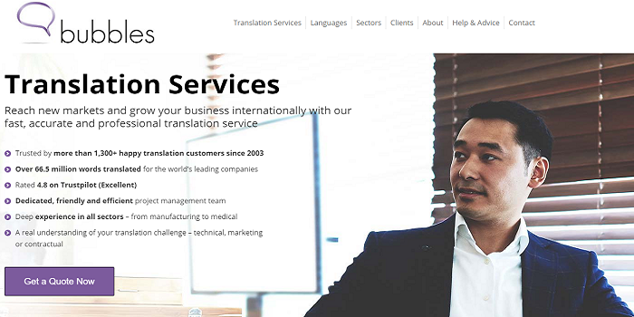 Which languages are in demand for translation with translation services uk?