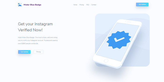 Buy Blue Check Mark Instagram Service Web Page And Utilize Your Insights