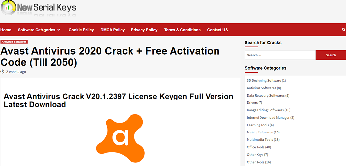 Avast Premier License Key With Activation Code Avast antivirus 2020 crack