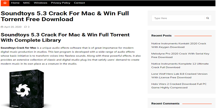 Soundtoys Crack Mac Download – Soundtoys Crack